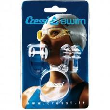 Комплект - зажим для носа+затычки для ушей