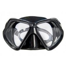 Маска SARGAN ОКА черный силикон черная рамка