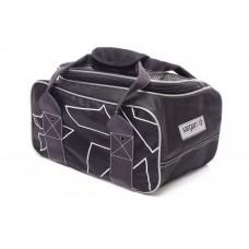 Сумка для грузов SARGAN Енот, 15х18х30см, поликордура Oxford 1680D PU черный