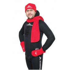Комплект Зимний (шапка+шарф+рукавицы)