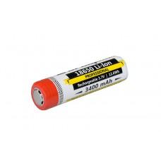 Li-Ion аккумулятор Armytek 18650, 3400 мАч