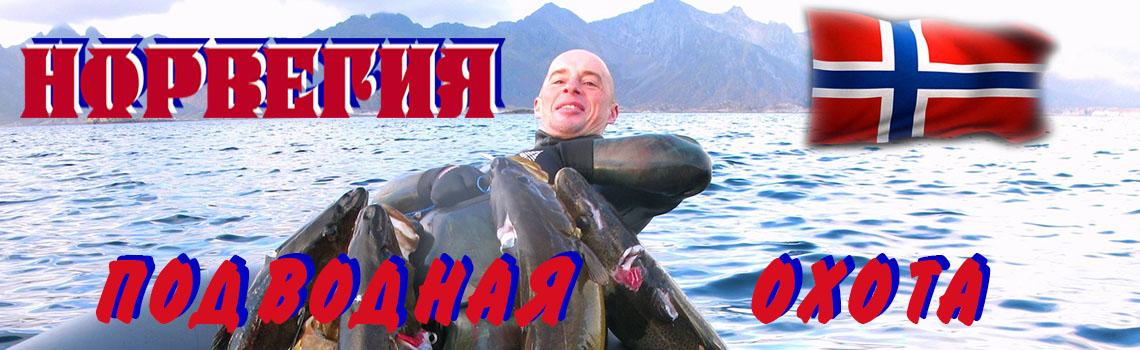 Подводная охота и рыбалка в Норвегии