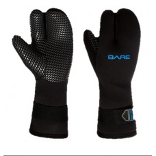 Перчатки Bare Mitt Black 7mm