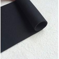 Неопрен 9 мм, открытая пора/нейлон, черный. 1 кв. дм