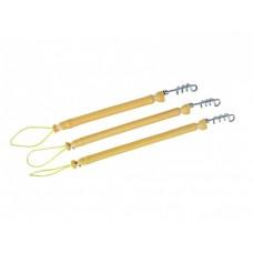 Амортизатор линя SCORPENA петля-резинка-спиральный карабин