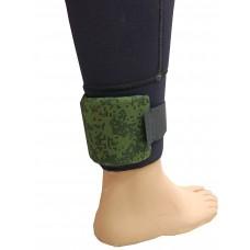 Груз ножной, 500 г обшитый, гнутый, с ремешком