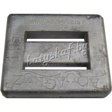 Груз 1 кг (квадрат) Aquagruz